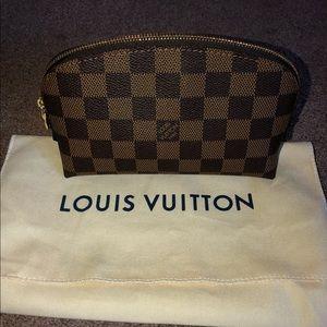 Louis Vuitton- Damier Ebene- Cosmetic Pouch